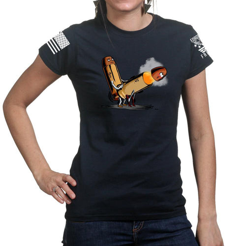 10mm Screws 45 Ladies T-shirt