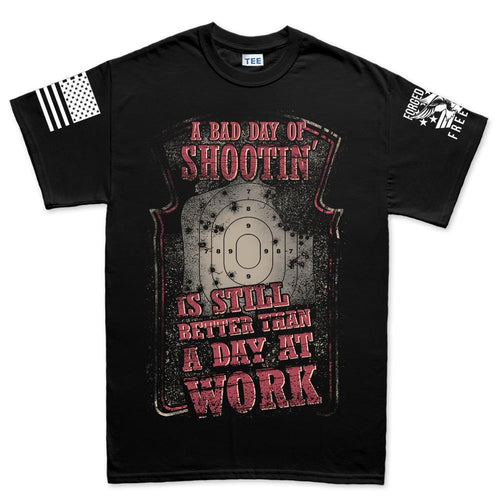 Bad Day of Shooting Men's T-shirt