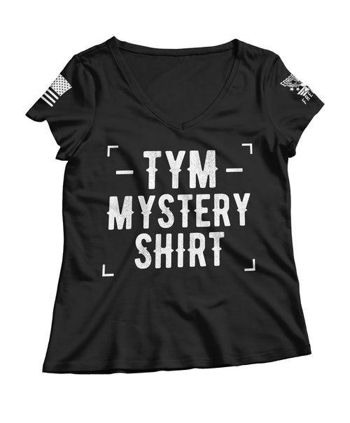 Ladies The Yankee Marshal Mystery V-Neck T-shirt