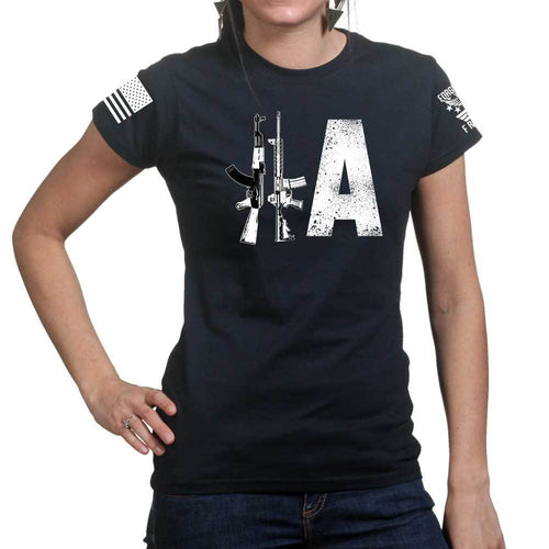 2A Rifles Ladies T-shirt