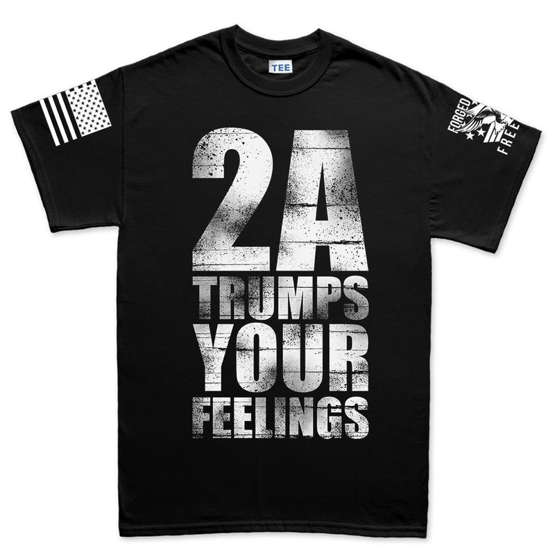 2A Trumps Your Feelings Men's T-shirt
