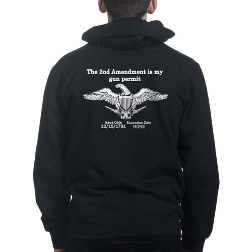 2nd Amendment Mens Hoodie