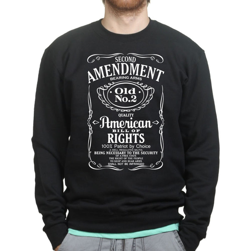 2nd Amendment Whiskey Mens Sweatshirt