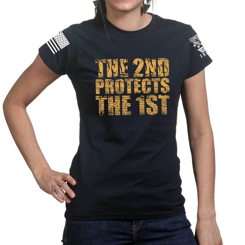 Ladies 2nd Protects The 1st T-shirt