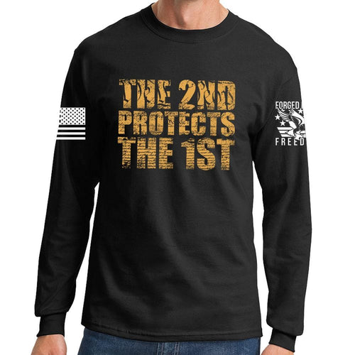 2nd Protects The 1st Long Sleeve T-shirt