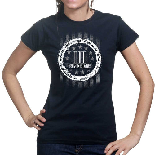 3 Percenter Ladies T-shirt
