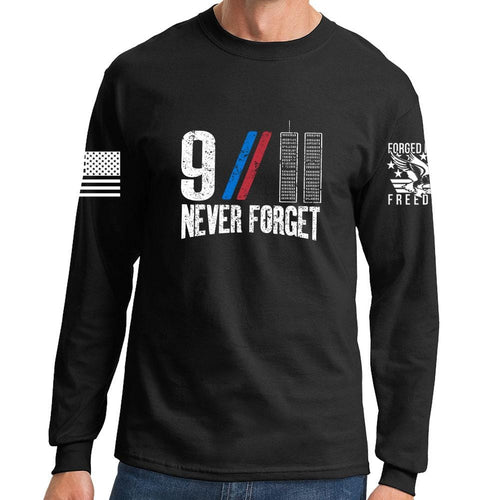 9/11 Never Forget Long Sleeve T-shirt