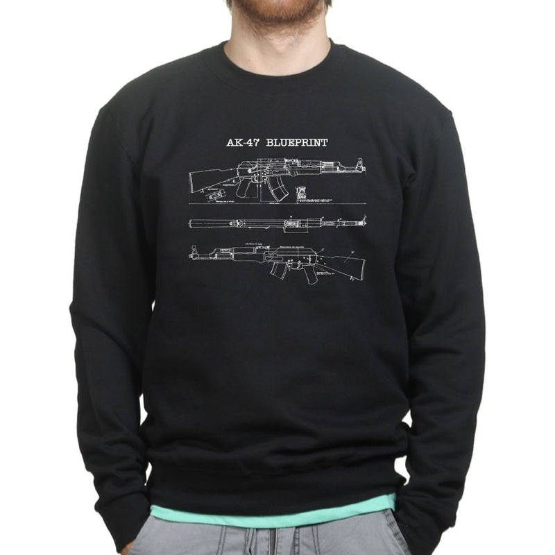 AK47 Blueprint Mens Sweatshirt