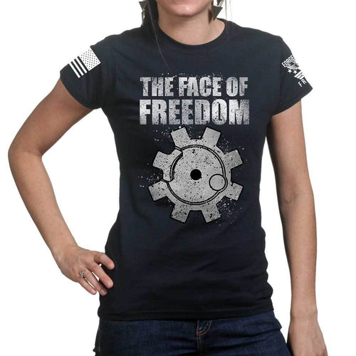 The Face of Freedom Ladies T-shirt