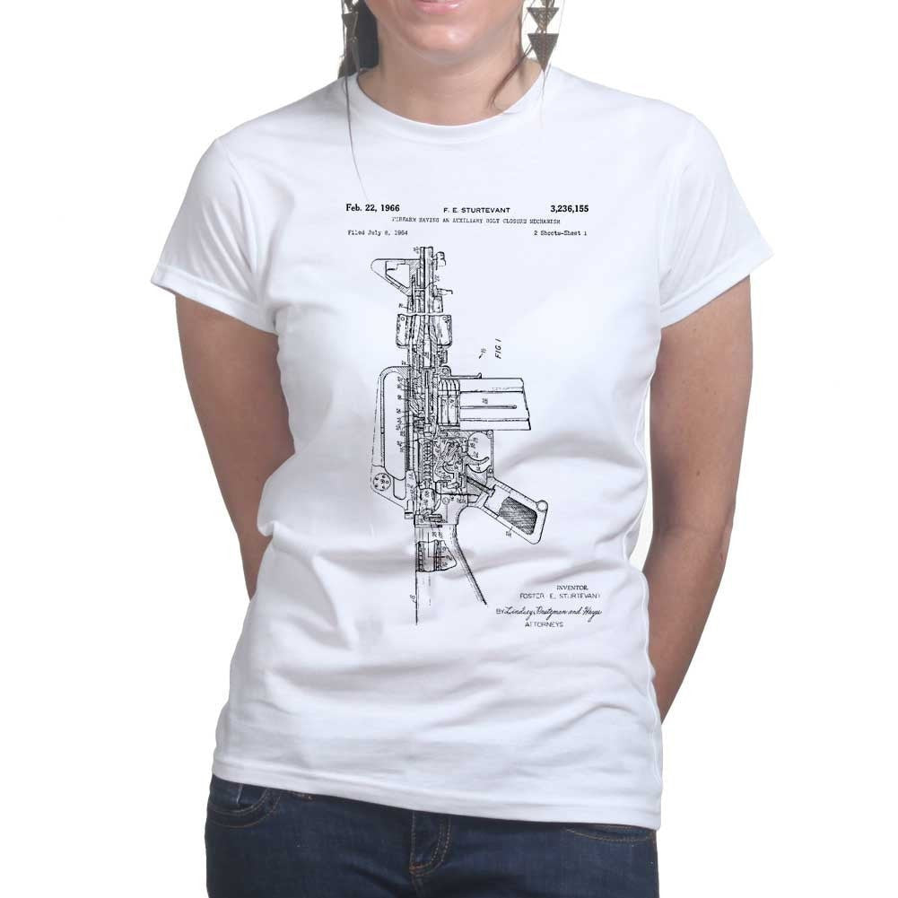 Ladies ar 15 pistol blueprint t shirt forged from freedom ladies ar 15 pistol blueprint t shirt malvernweather Choice Image