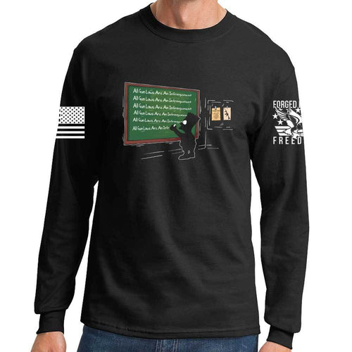 All Gun Laws Are An Infringement Long Sleeve T-shirt