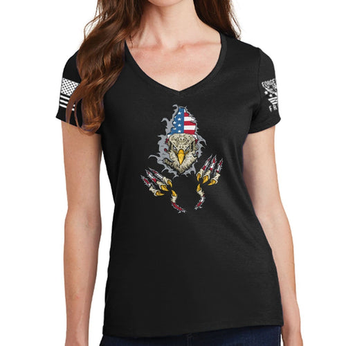 Ladies American Eagle V-Neck T-shirt