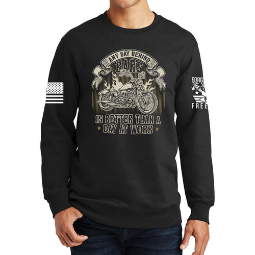 Any Day Behind Bars Sweatshirt