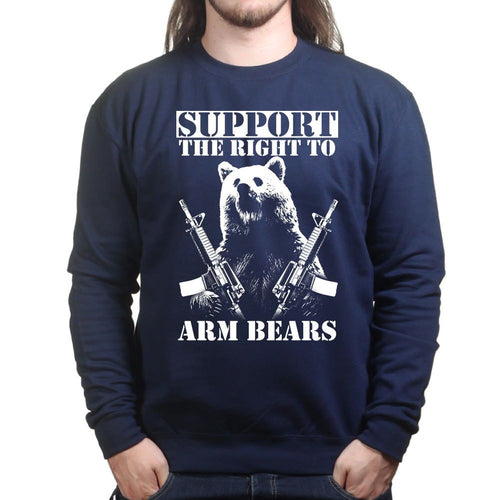 Unisex Arm Bears Sweatshirt