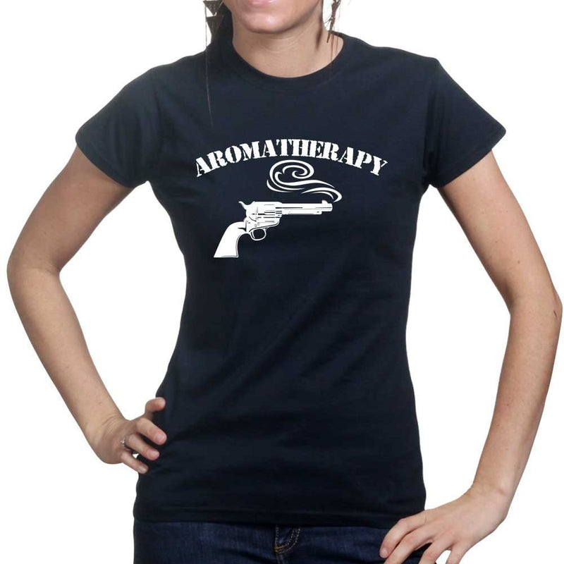 Gun Aromatherapy Ladies T-shirt
