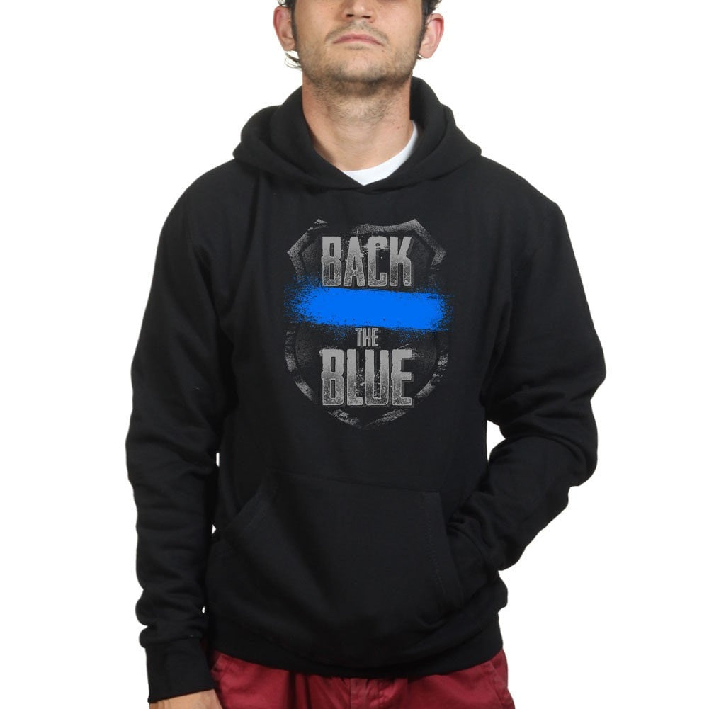 3aabe9f3 Back The Blue Hoodie – Forged From Freedom