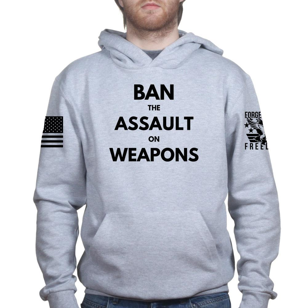 the banning of assault weapons essay It would also benefit us to redefine what assault weapons are so that when we  call for a ban against them, it's clear that we aren't trying to ban.