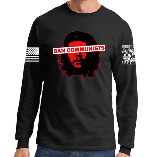 Ban Communists Long Sleeve T-shirt