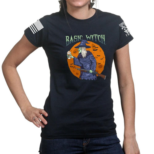 Ladies Basic Witch T-shirt