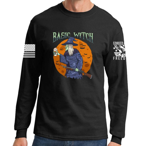 Long Basic Witch Sleeve T-shirt
