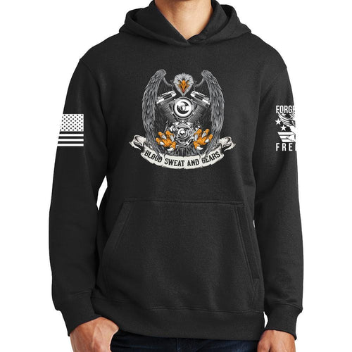 Blood Sweat and Gears Hoodie