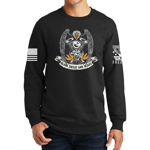 Blood Sweat and Gears Sweatshirt