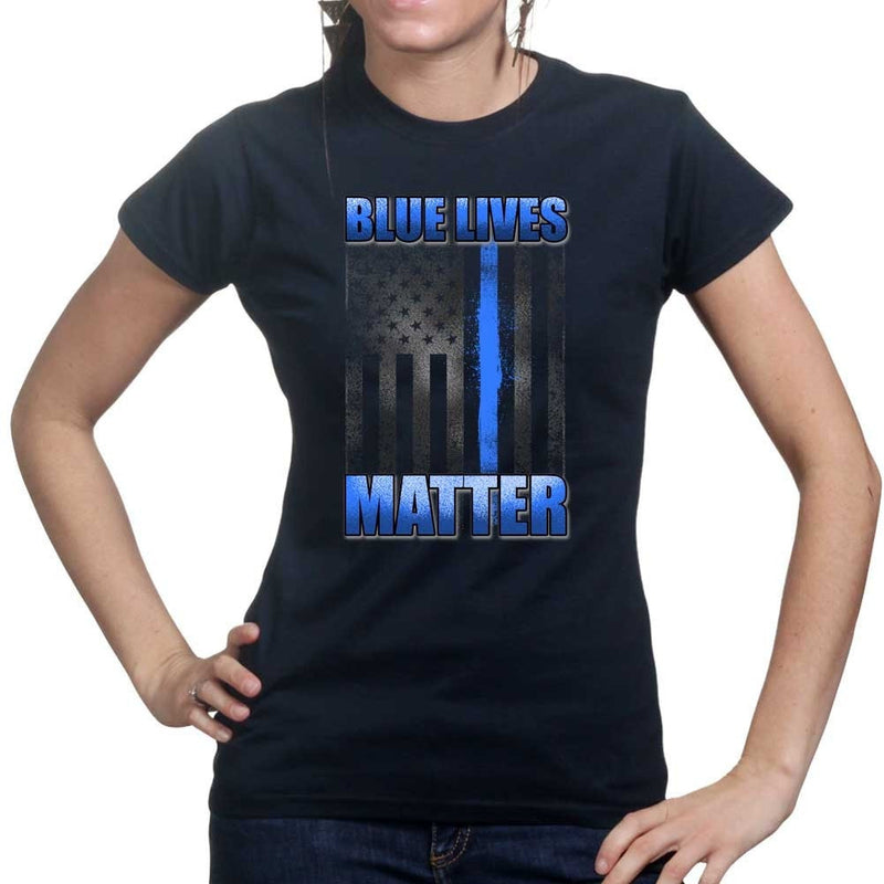 Ladies Blue Lives Matter T-shirt