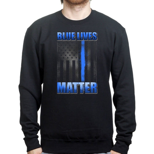 Unisex Blue Lives Matter Sweatshirt