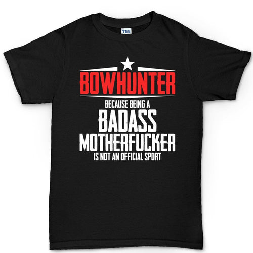 Bowhunter Badass Men's T-shirt