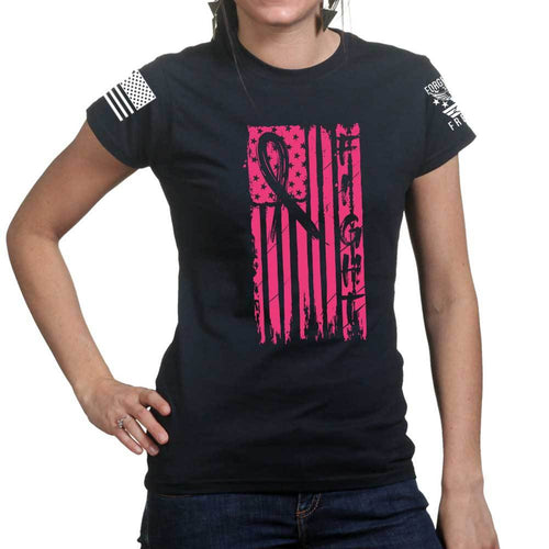 Ladies FIGHT - Breast Cancer Awareness T-shirt