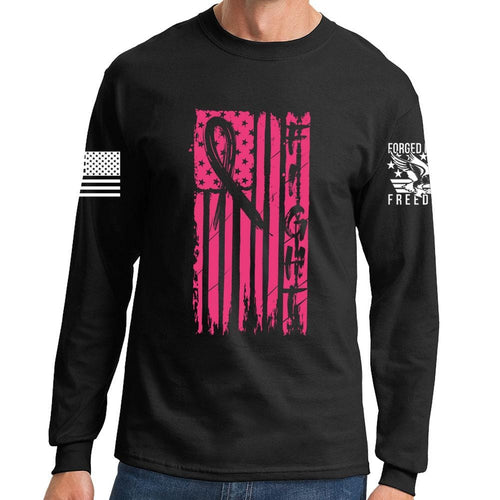 FIGHT - Breast Cancer Awareness Long Sleeve T-shirt