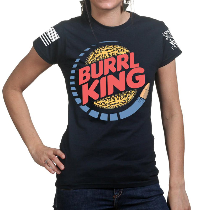 Burrl King Ladies T-shirt