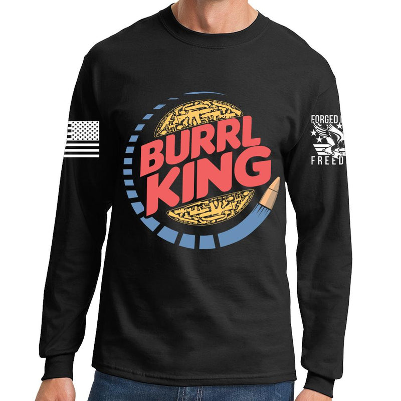 Burrl King Long Sleeve T-shirt