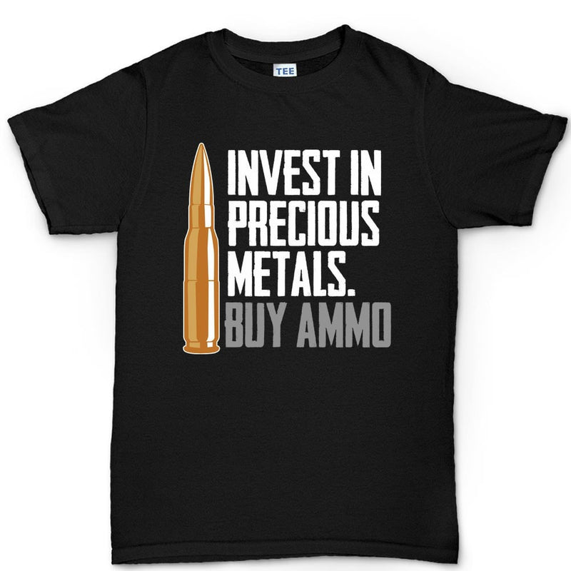 Invest In Ammo Men's T-shirt