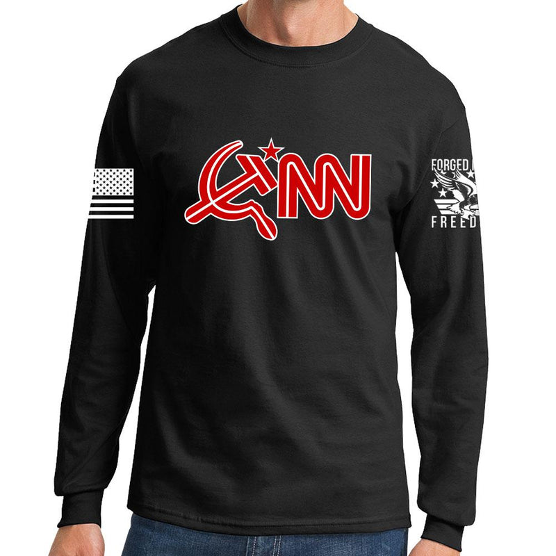 Commie News Network Long Sleeve T-shirt