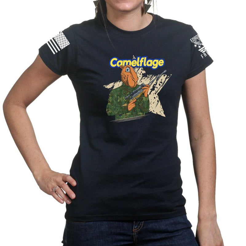 Ladies Camelflage T-shirt