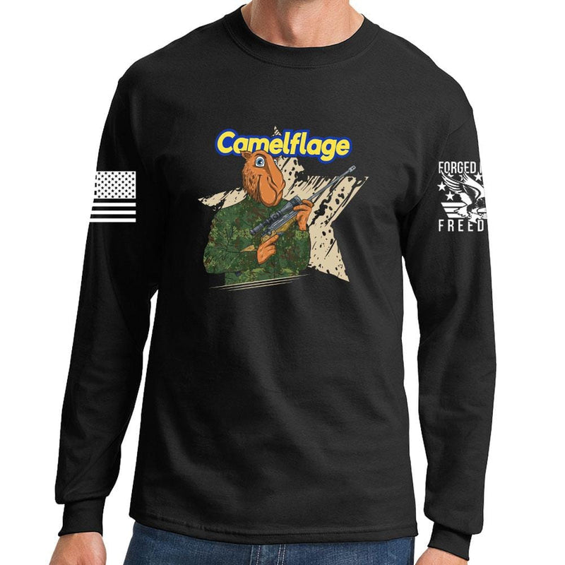 Long Sleeve Camelflage T-shirt