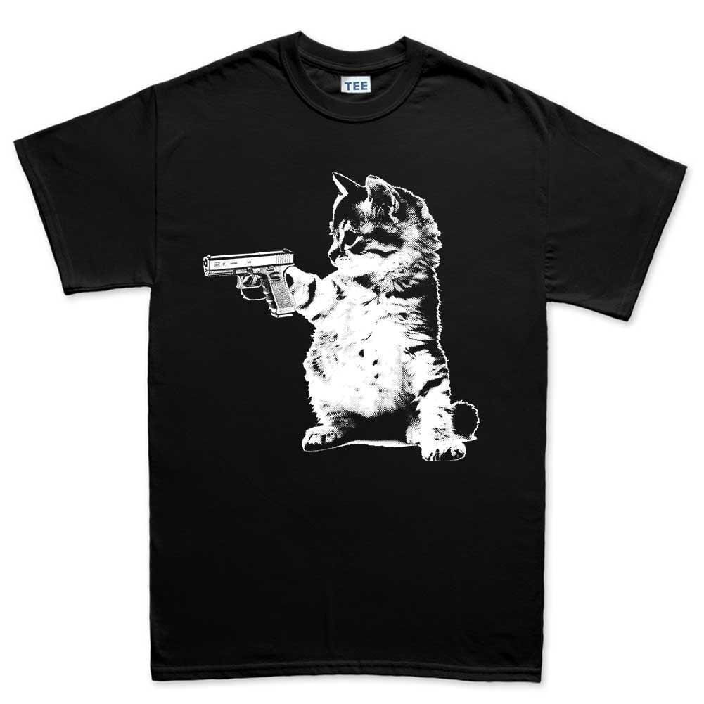 Gun T Shirts >> Men S Kitty Cat Gun T Shirt Forged From Freedom
