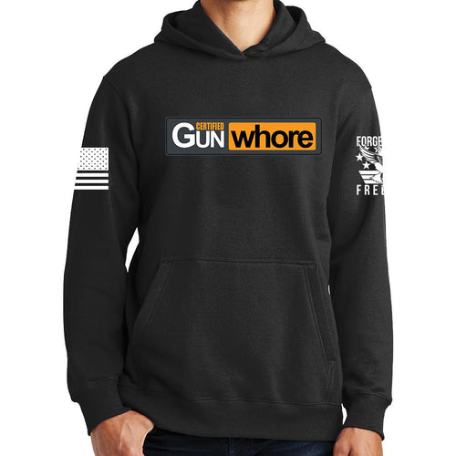 Certified Gun Whore Hoodie