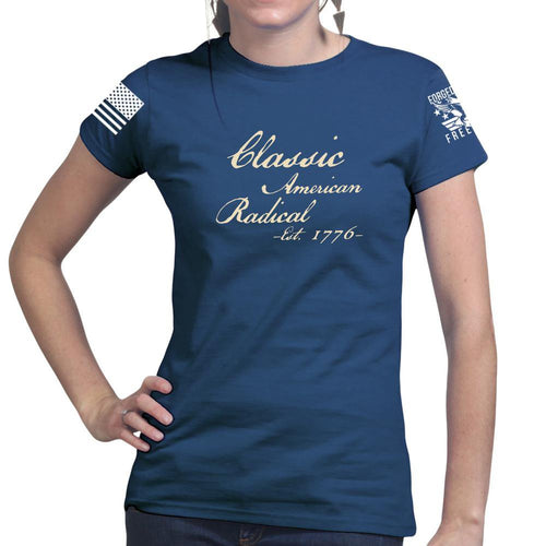 Classic American Radical Ladies T-shirt