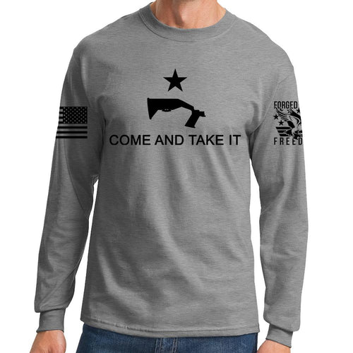Come and Take It Bump Stock Long Sleeve T-shirt
