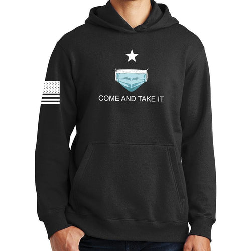 Mens Come and Take it - Medical Mask Edition Hoodie