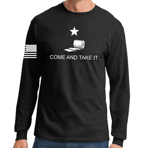 Mens Come and Take it - Toilet Paper Edition Long Sleeve T-shirt