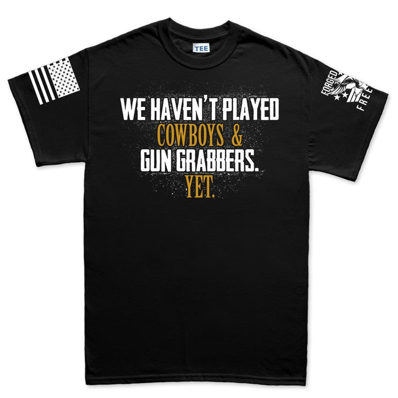 Cowboys and Gun Grabbers Men's T-shirt