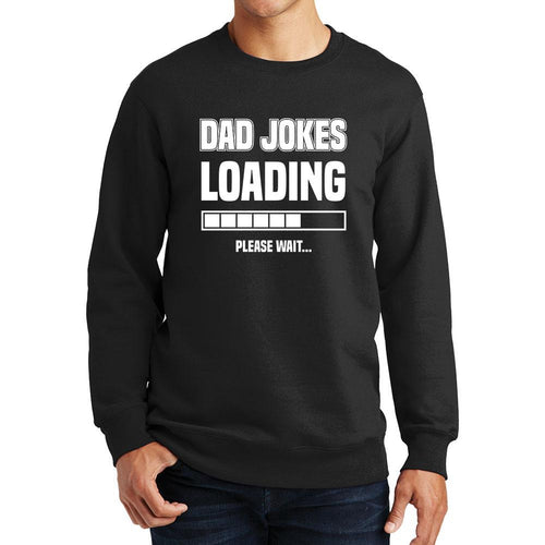 Dad Jokes Loading Sweatshirt