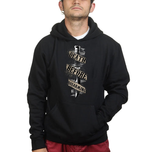 Death Before Disarming Hoodie