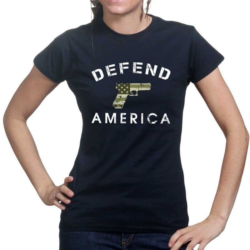 Defend America Ladies T-shirt