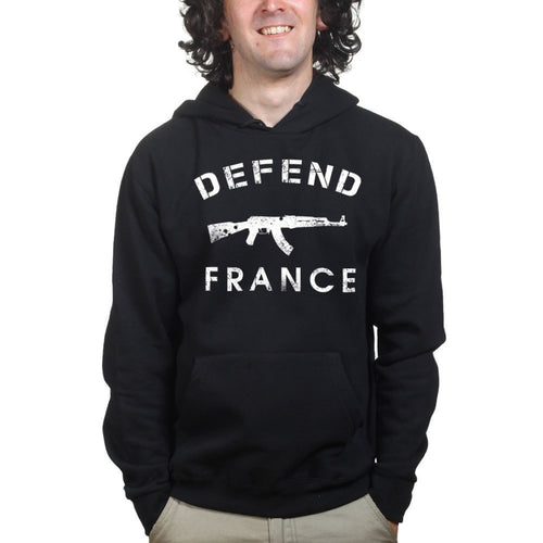 Defend France Mens Hoodie