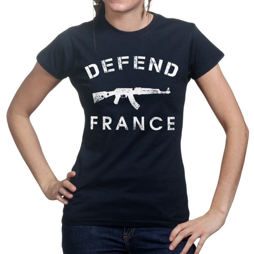 Defend France Ladies T-shirt