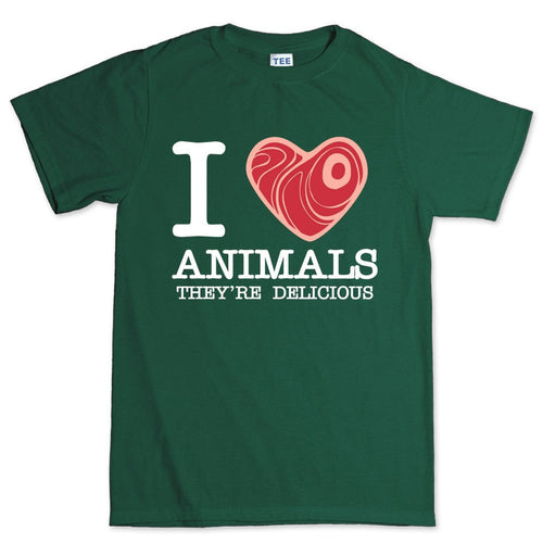 I Love Animals Men's T-shirt